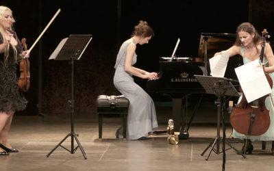 """""""Les Troizettes"""" Musikalisches Kabarett Sonntag 07.04.2019"""