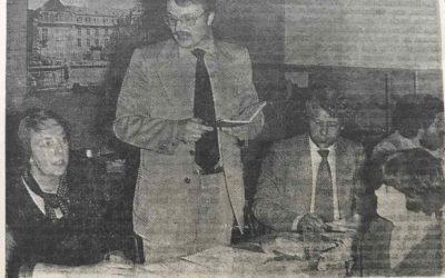 Der erste 1. Vorsitzende – Dr. Hanns-Jürgen Weigel