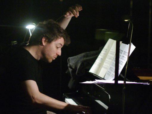 Cédric Pescia, Klavier  Sonntag 22.03.2020
