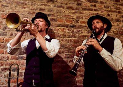 Abgesagt: Gypsy-Klezmer-Musik mit Django mobil  Samstag 20.06.2020